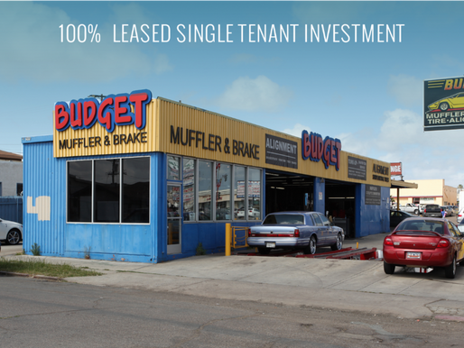 100% Leased Single Tenant Investment