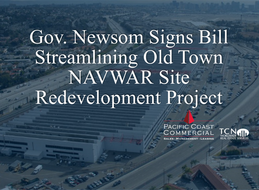 Gov. Newsom Signs Bill Streamlining Old Town NAVWAR Site Redevelopment Project