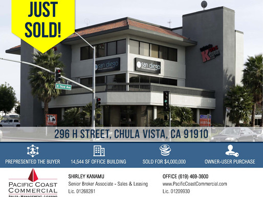 Multi-Tenant Office Building Sold for $4,000,000