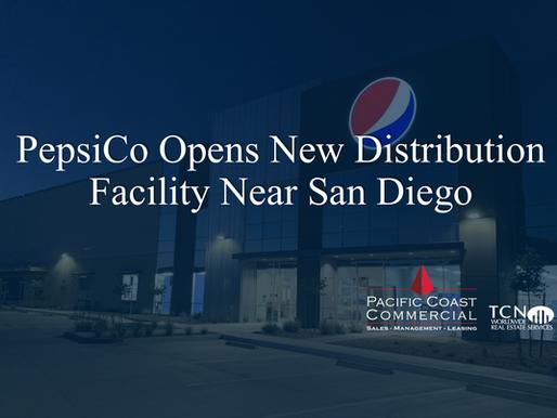 PepsiCo Opens New Distribution Facility Near San Diego