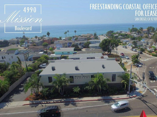 Pacific Beach Coastal Office FOR LEASE