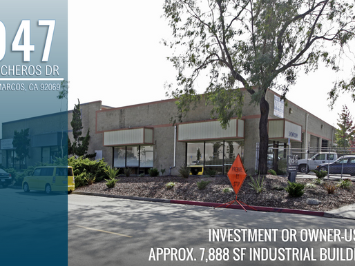 NEW ON MARKET! Approx. 7,888 SF Industrial Building - Investment or Owner/User