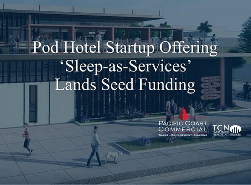 Pod Hotel Startup Offering 'Sleep-as-Service' Lands Seed Funding