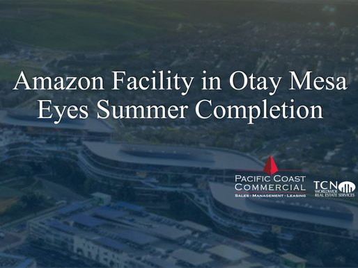 Amazon facility in Otay Mesa eyes summer completion