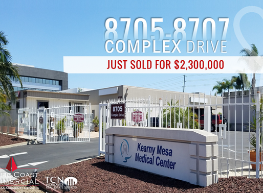 JUST SOLD! Kearny Mesa Outpatient Surgery Center | $2,300,000