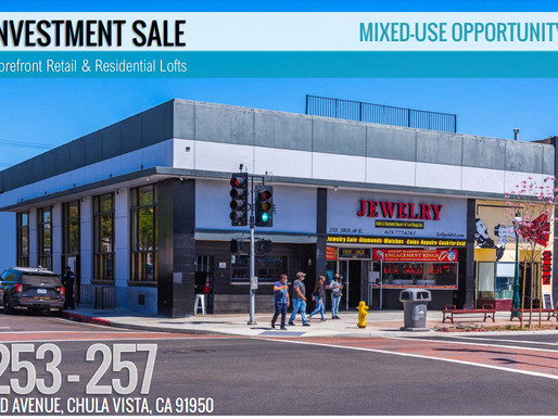 NEW ON MARKET | Storefront Retail & Residential Lofts - Mixed-Use Opportunity