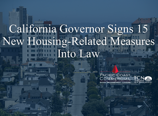 California Governor Signs 15 New Housing-Related Measures Into Law