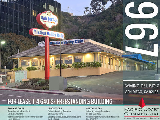 4,640 SF Freestanding Building For Lease