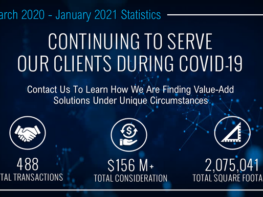 PCC is Continuing to Serve Our Clients During COVID-19 | March - January