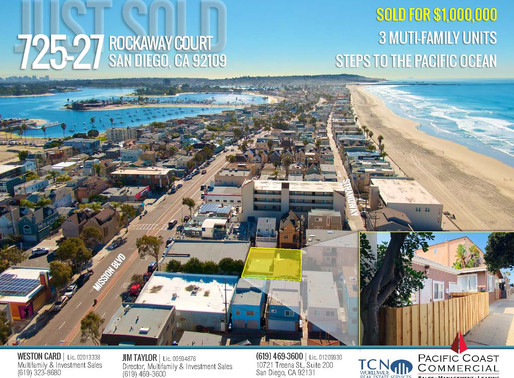 JUST SOLD! 3 Multi-Family Units Steps to Pacific Ocean
