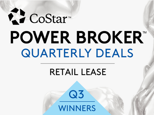 CoStar's Top Retail Leases Recognized for San Diego