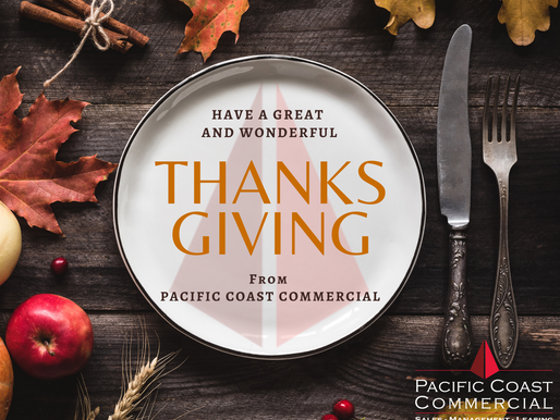 Happy Thanksgiving from Pacific Coast Commercial