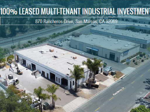 NEW ON MARKET! 100% Leased Multi-Tenant Industrial Investment