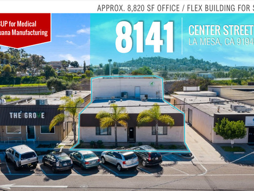 FOR SALE - Office/Flex Building   CUP for Medical Marijuana Manufacturing