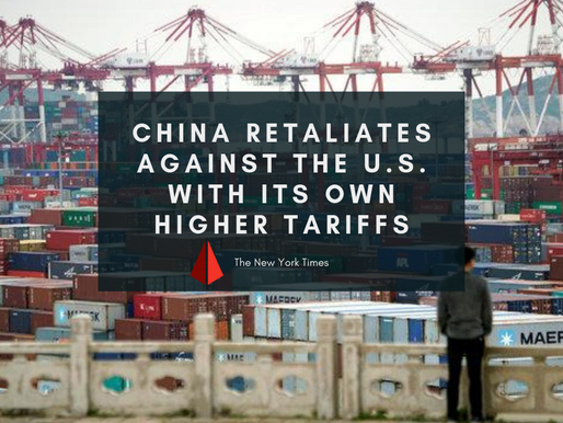 China Retaliates Against the U.S. With Its Own Higher Tariffs