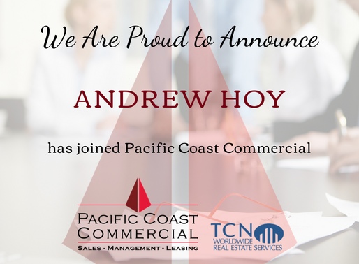 PCC Continues to Grow   Welcome to the Team Andrew Hoy