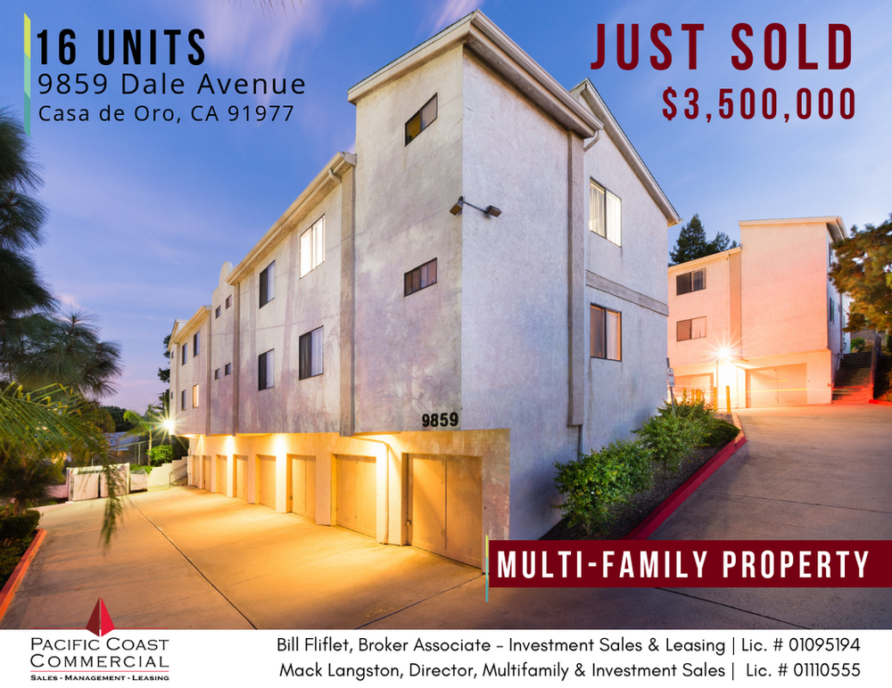 Just Sold | 16-Unit Multi-Family Property