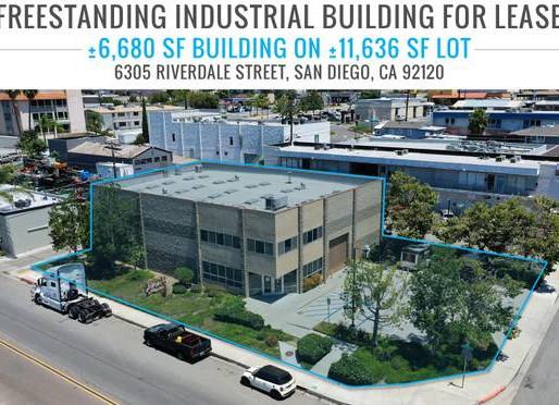 NEW ON MARKET! Grantville Freestanding Industrial Building for Lease