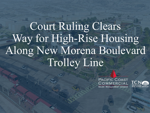 Court Ruling Clears Way for High-Rise Housing Along New Morena Boulevard Trolley Line