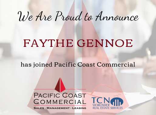 PCC Continues to Grow | Welcome to the Team Faythe Gennoe