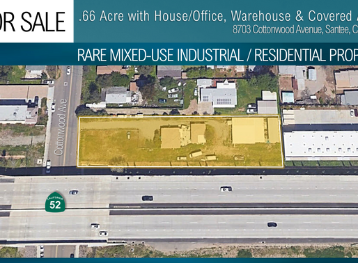 NEW ON MARKET! Rare Mixed-Use Industrial / Residential Property for Sale
