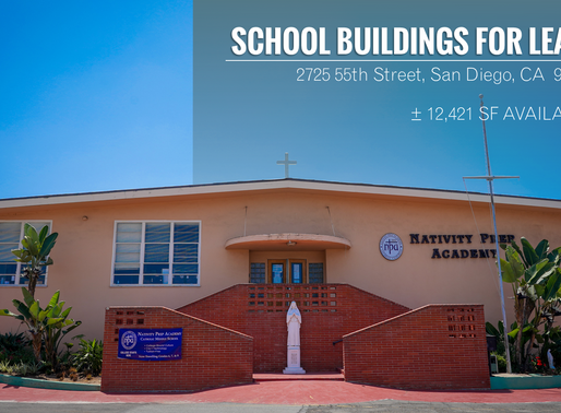 NEW ON MARKET | School Buildings for Lease