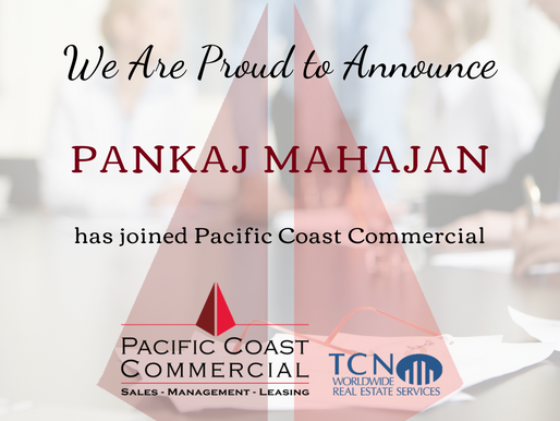 PCC Welcomes Pankaj Mahajan to the Team!