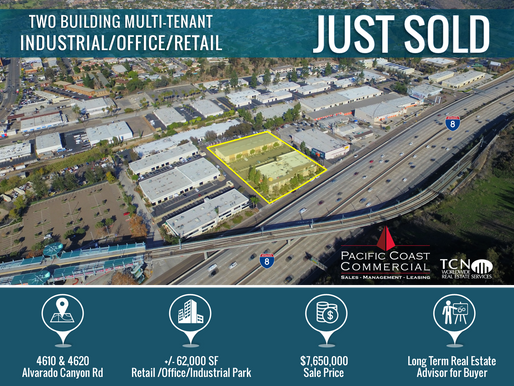 Just Sold for $7.65M! Industrial/Office/Retail Park