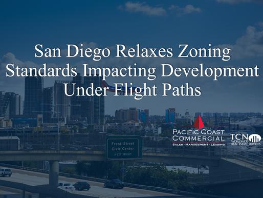 San Diego Relaxes Zoning Standards Impacting Development Under Flight Paths
