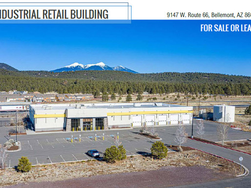 For Sale or Lease - Industrial Retail Building - Bellemont, Arizona
