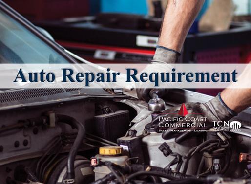 Auto Repair Client Requirement