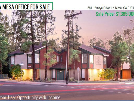 La Mesa Office Building for Sale | $1,385,000