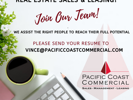 Are You Interested in Commercial Real Estate Sales & Leasing? Join Our Team!