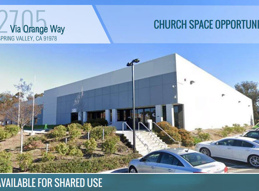 CHURCH SPACE OPPORTUNITY - Available For Shared Use - Includes Online Streaming Access