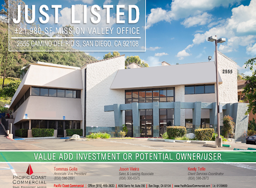 RARE OWNER/USER OPPORTUNITY WITH RENTAL INCOME | Mission Valley Office