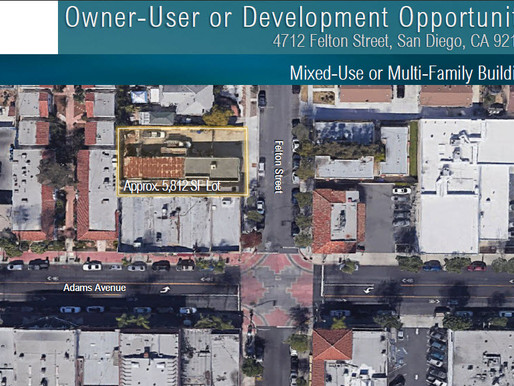 NEW ON MARKET! Owner-User or Development Opportunity | Mixed-Use or Multi-Family Building
