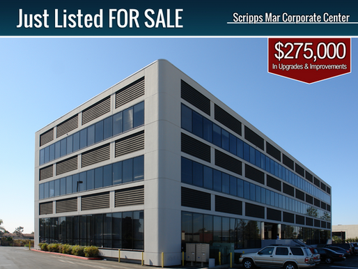 JUST LISTED FOR SALE   Top Floor First-Class Office Suite