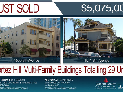JUST SOLD! Cortez Hill Multi-Family Buildings | $5,075,000