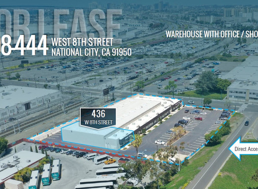 National City Light Industrial Space for Lease