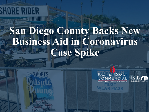 San Diego County Backs New Business Aid in Coronavirus Case Spike