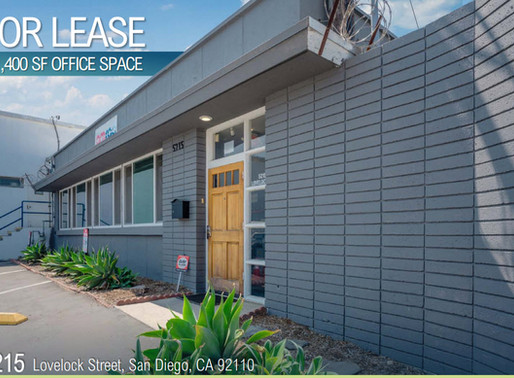 NEW ON MARKET | Office Space in Morena Design District