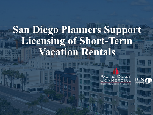 San Diego Planners Support Licensing of Short-Term Vacation Rentals