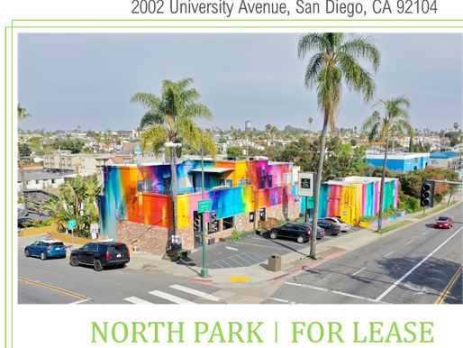 Distinctive North Park Retail/Creative Office Space For Lease