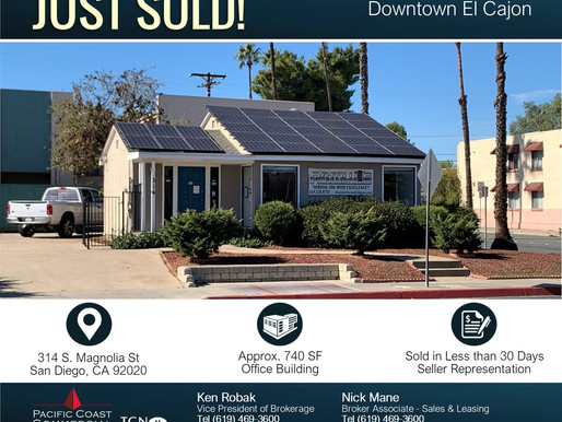 JUST SOLD! Downtown El Cajon Office Building