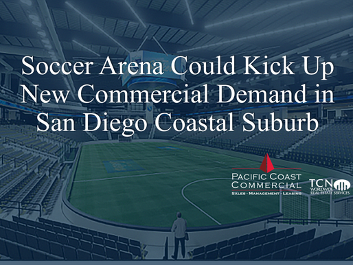 Soccer Arena Could Kick Up New Commercial Demand in San Diego Coastal Suburb