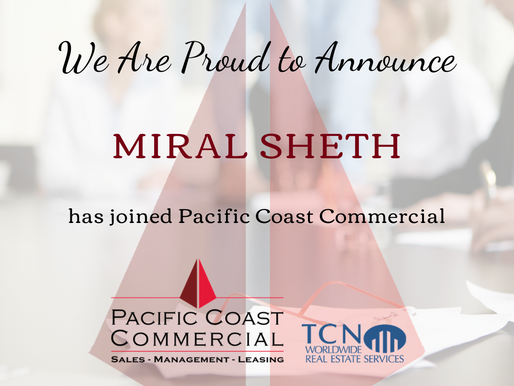 PCC Welcomes Miral Sheth to the Team!