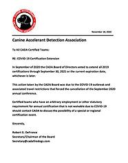 CADA COVID-19 Update