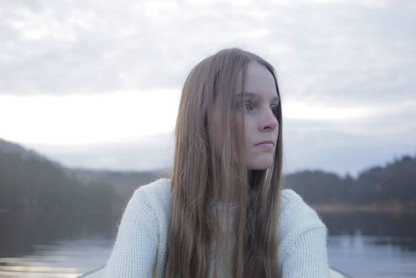 """Hovedrolle og eneste medvirkende i kortfilmen """"Søsteren"""" fra 2015"""