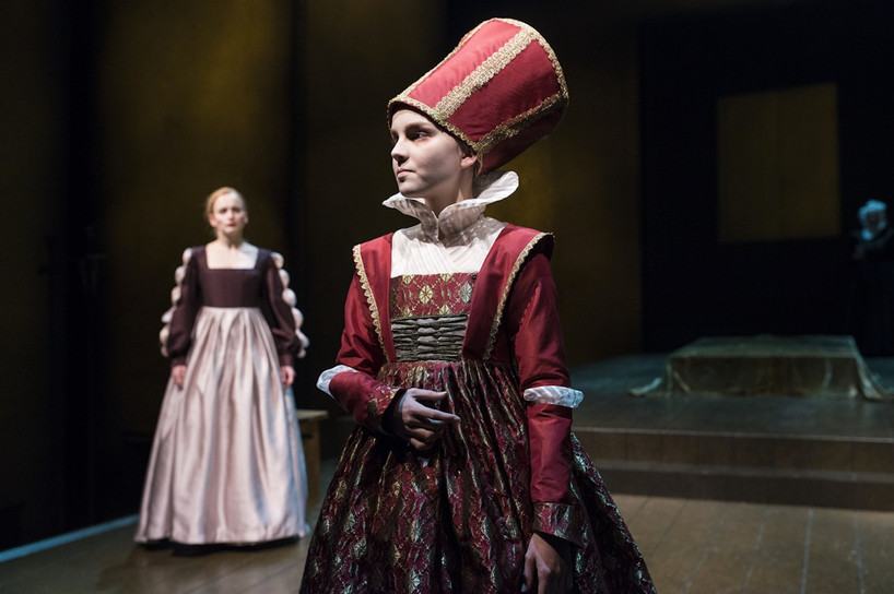 "Queen Isabella in ""Dyveke"" at The National Stage, Bergen in 2013"