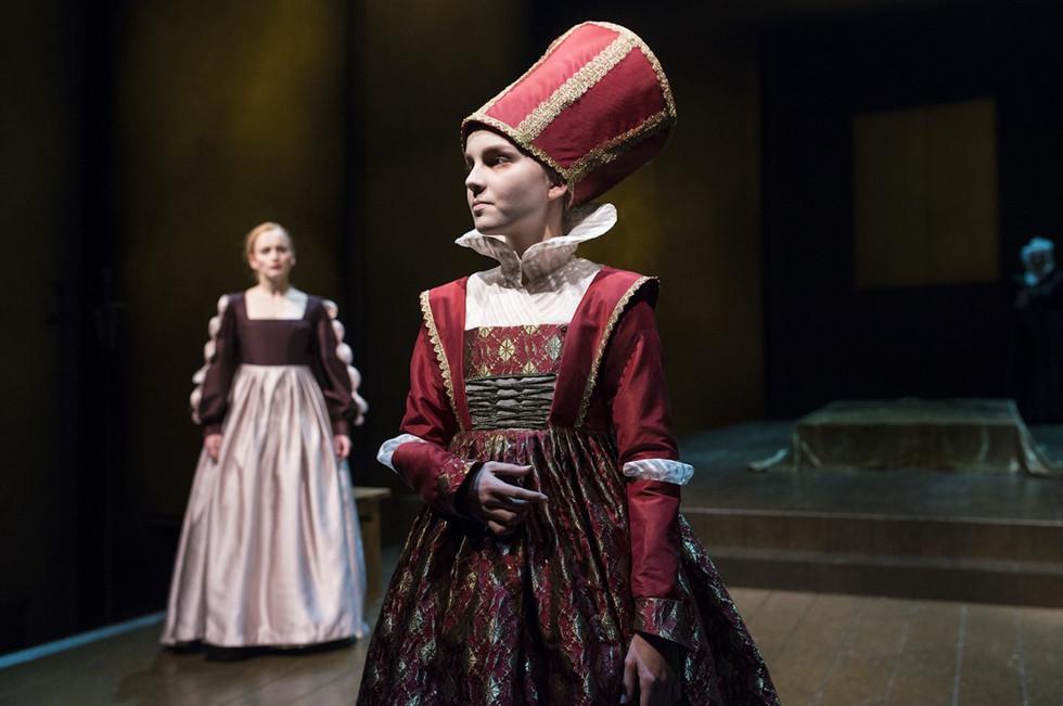 """""""Dronning Isabella"""" i Dyveke på Den Nationale Scene i 2013"""